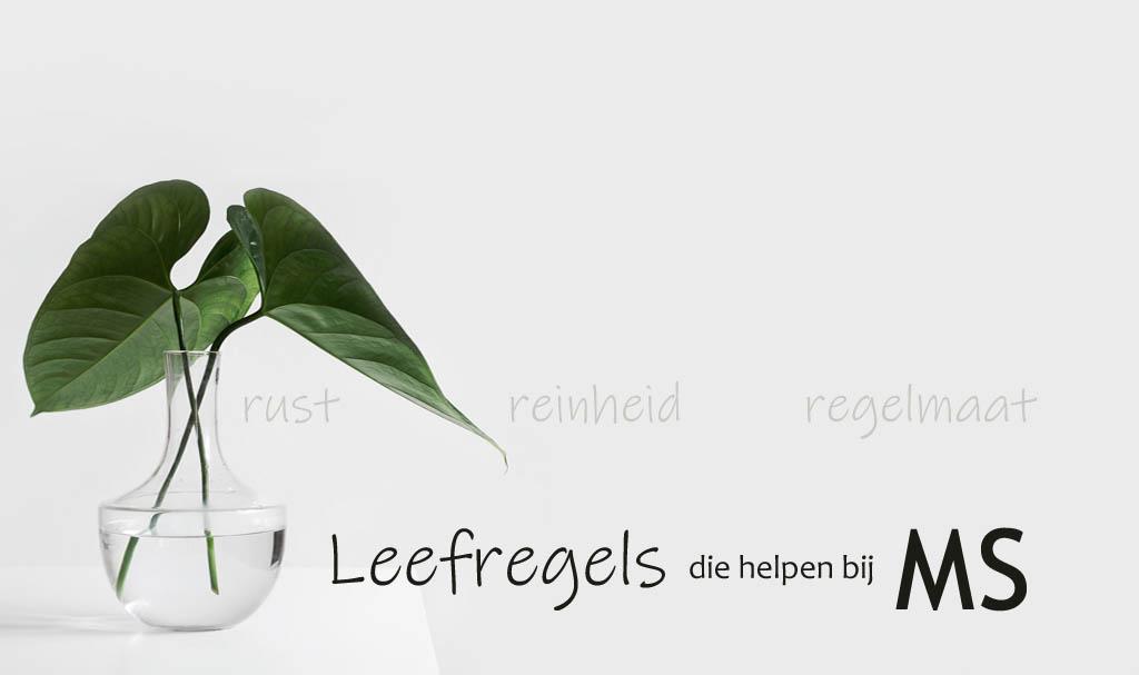 Leefregels MS